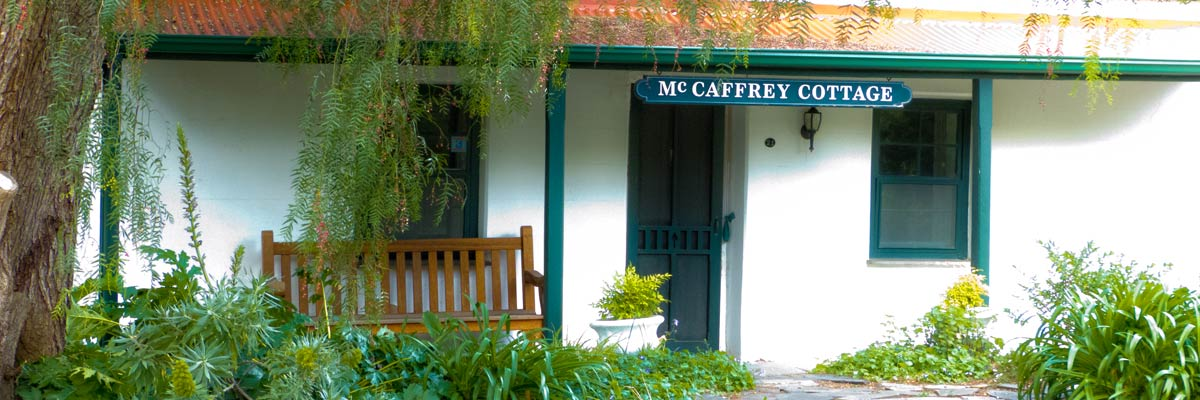 McCaffrey Cottage Bed and Breakfast Accommodation Willunga McLaren Vale